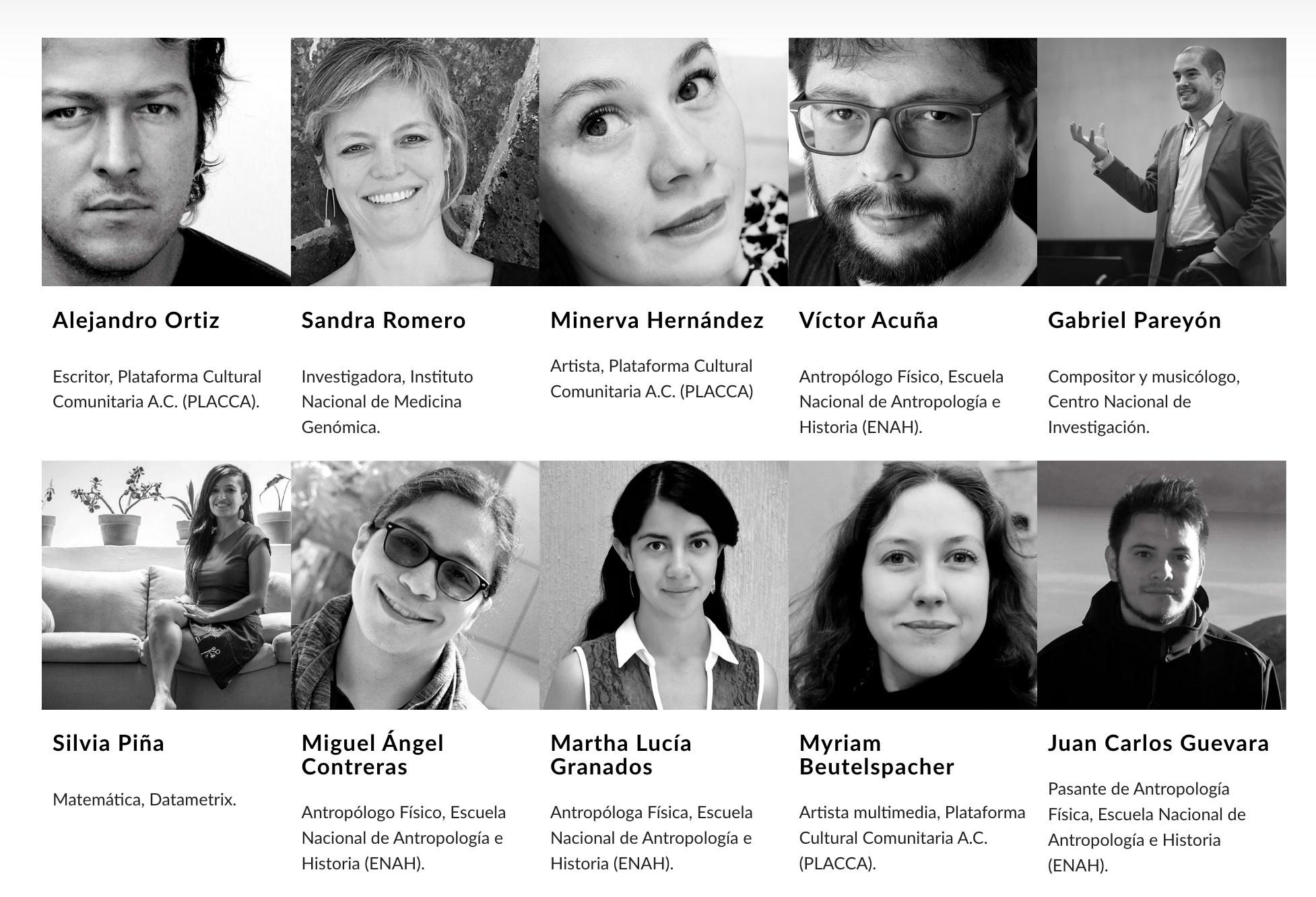 Mosaico genético en México: una mirada desde las artes